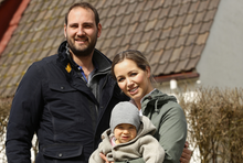 Porträt der Praxistest-Familie Haider-Daller.