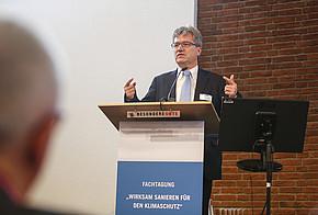 """Berthold Goeke auf der Fachkonferenz """"Wirksam sanieren für den Klimaschutz"""""""