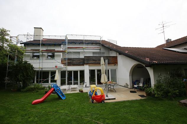 Das Haus von Familie Kniehase in Neubiberg bei München.
